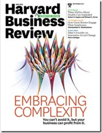 HBR, Embracing complexity, sept 2011